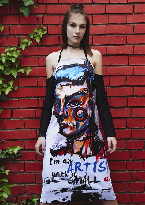 Longdress Print dress with print artist