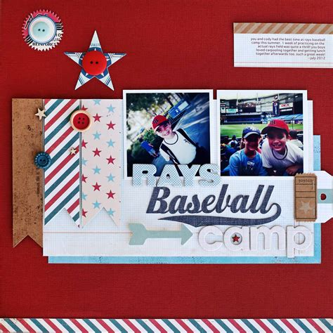 ideas  borders seams  edging   scrapbook page