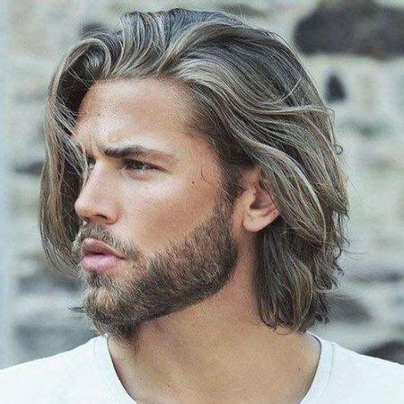frisur fuer maenner lange haare haarschnitt maenner