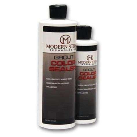grout color sealer modern gallon color grout sealer and stain choose