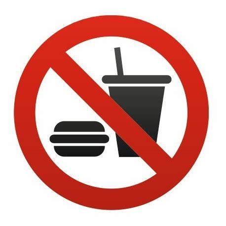 Asmodee Interdit De Boire autocollant interdit manger et boire etiquette autocollant