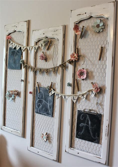 Wall Decor Shabbychic 40 shabby chic decor ideas and diy tutorials 2017