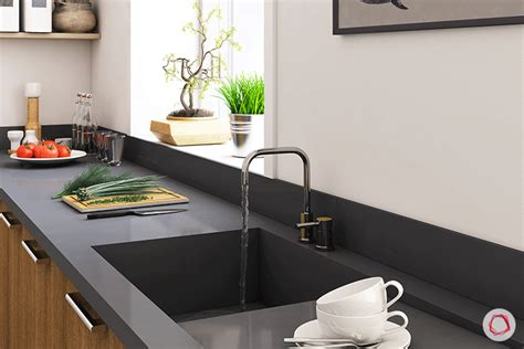 One Piece Kitchen Sink And Countertop Best Home Design 2018 One Kitchen Sink And Countertop