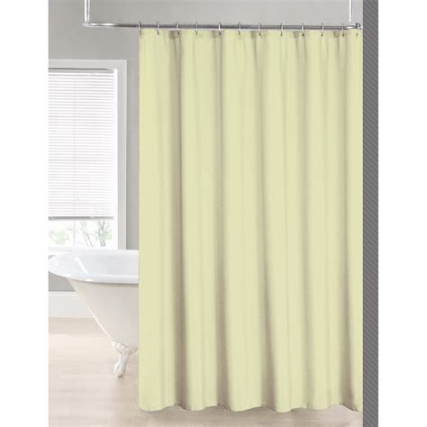 polyester shower curtain liner 2 in 1 water repellant 70 x 72 polyester fabric shower
