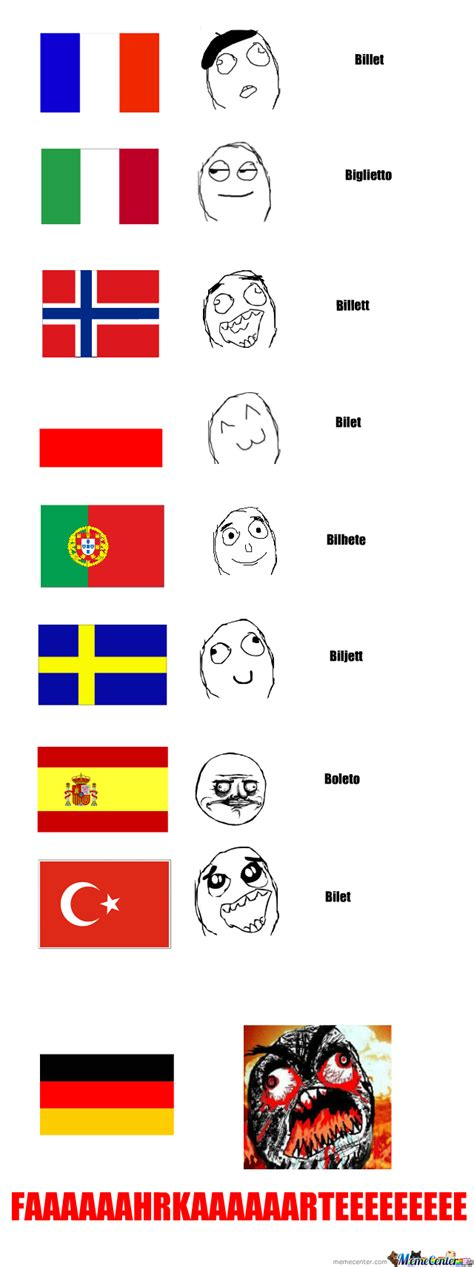 Language Memes - language differences by voyager meme center