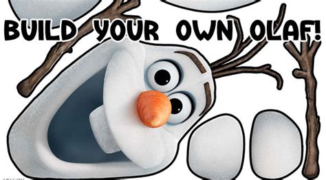 printable olaf build a snowman 8 best images of olaf the snowman face printables olaf