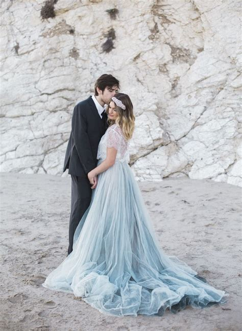 a blue wedding dress best 25 blue wedding dresses ideas on pinterest blue