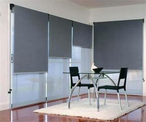 Roller Blinds Gorden 36 dobles comedor offices blackout shades window and tiny houses
