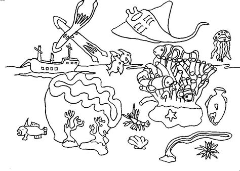 coral coloring pages az coloring pages
