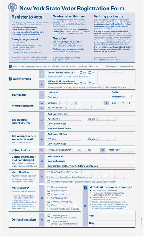 form design ny oxide design co new york state voter registration form