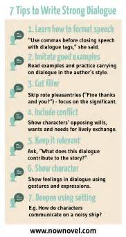 how to write dialogue in a story 7 steps now novel
