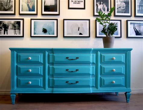 Turquoise Dresser by Turquoise Dresser Sideboard By Poppyseedliving On Etsy