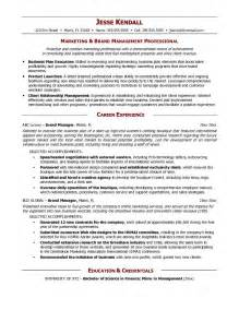 Brand Communications Manager Sle Resume by Brand Manager Resume Berathen