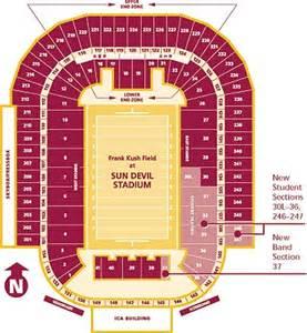 arizona stadium seating map arizona state sun devils 2014 football schedule