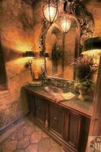 iron furniture bathroom tuscan