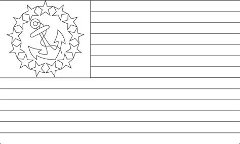 coloring page for united states flag free coloring pages of flag of united states