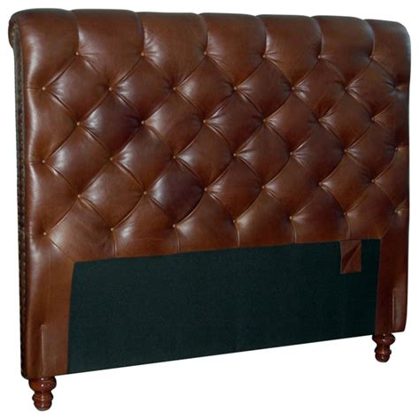 real leather headboards chesterfield genuine leather headboard button diamond