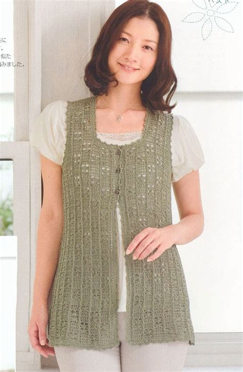 free pattern vest crochet free shipping woman crochet vest top pdf pattern by