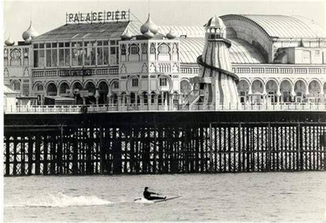the palace pier and theatre brighton later brighton pier seafood and mystery tours the palace pier palace pier