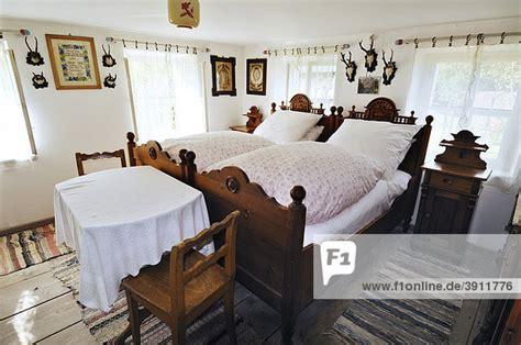 Europäisches Schlafzimmer by Bauernhofmuseum Glentleiten Bayern Deutschland Europa