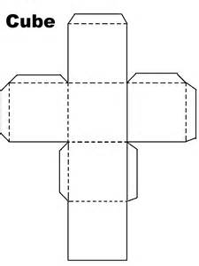 cube template doc 760994 cube template printable cube pattern or