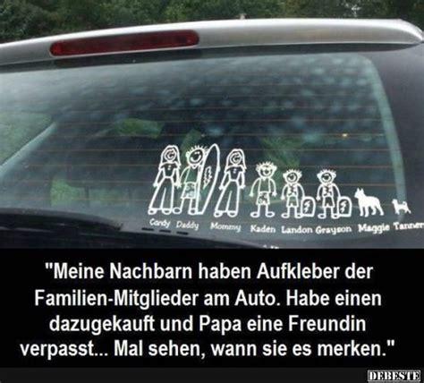 Sex Geschichten Im Auto by Meine Nachbarn Haben Aufkleber Der Familien Mitglieder Am