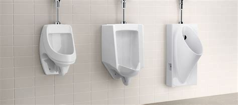 bathroom urinals waterless bathroom kohler