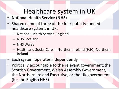 scandinavian health care system united kingdom health care system ppt