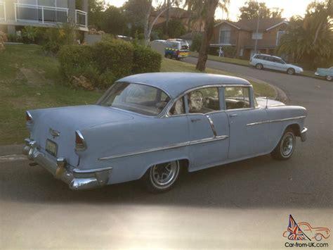 55 Chevy 4 Door by Chevy 1955 Chevrolet 55 Chev Belair 4 Door Sedan
