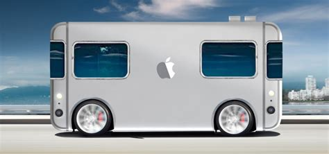 apple unveils self driving mini electric home on wheels