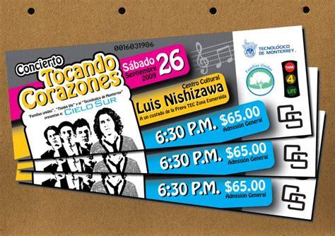 desain layout event 26 referensi desain tiket konser ids international