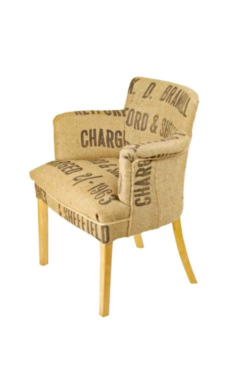 Sack Chair by Sheffield Grain Sack Chair Bespoke Chairs