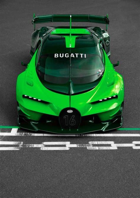 green bugatti bugatti vision gran turismo green cars pinterest