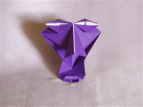Origami Human Figure - fumblings of an origami novice masks and human figures
