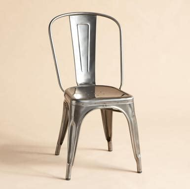 imperfection aluminum dining chairs deal