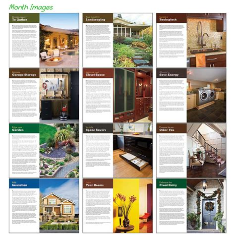 custom home improvement tips triumph calendars x11280