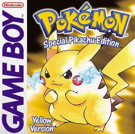 pokemon pikachu game pok 233 mon yellow version special pikachu edition game boy