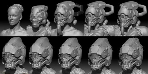 zbrush coin tutorial default mech helmet 100 zbrush sculpt plus game res real
