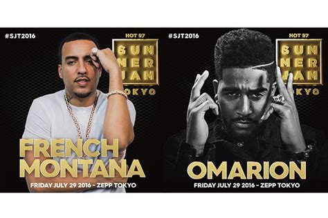 summer french edition 97 hot 97 summer jam 出演アーティスト第2弾発表 french montana omarion決定 clubberia クラベリア