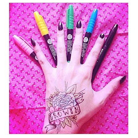 design your own temporary tattoo online temporary pen kit 36 set create your own