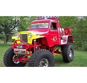 Willys Jeep Pickup Truck Monster Machine