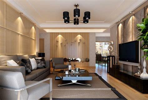 contoh desain ruang tamu minimalis simple  tetap