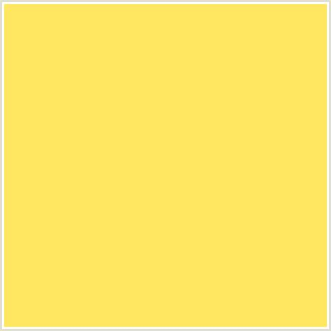 yellow mustard color ffe761 hex color rgb 255 231 97 mustard yellow