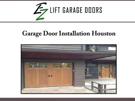 Garage Door Installation Houston garage door installation houston by ezohd issuu