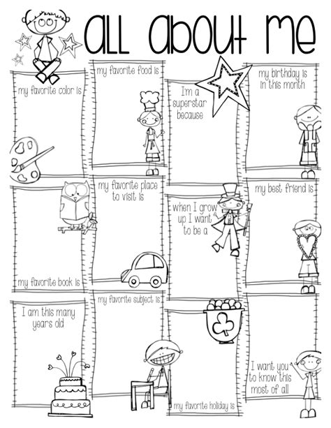 All About Me Coloring Pages To Download And Print For Free All About Me Coloring Pages