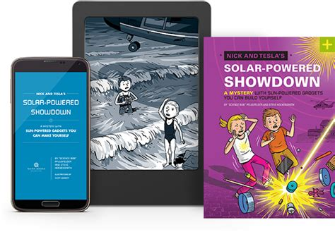 Nick And Tesla Books Nick And Tesla S Solar Powered Showdown Quirk Books