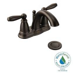 Moen Brantford Kitchen Faucet Oil Rubbed Bronze Moen Brantford 4 In Centerset 2 Handle Low Arc Bathroom
