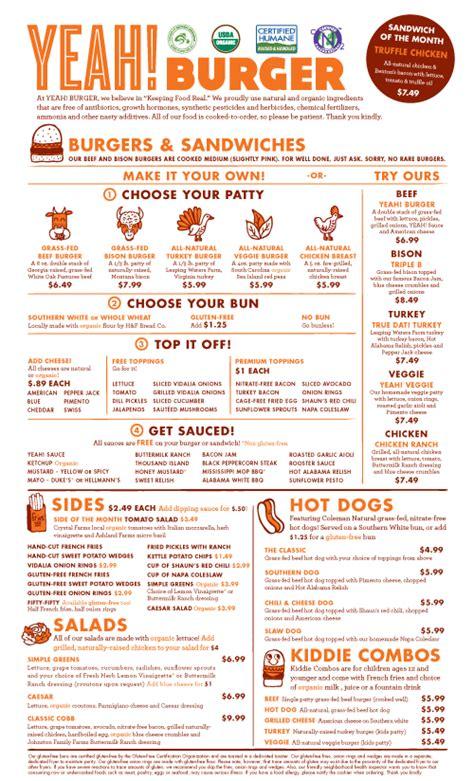 design menu burger pin by katom restaurant supply on menu design pinterest