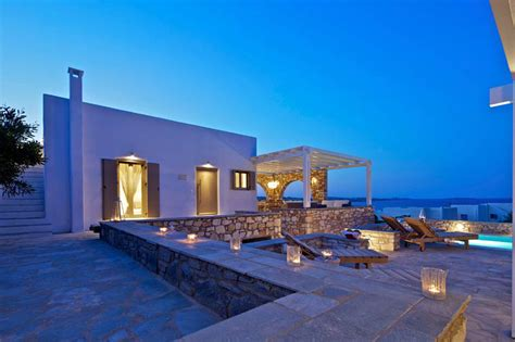 Best Decorated Homes Villa Almyra Luxury Getaway In Paros Island Greece