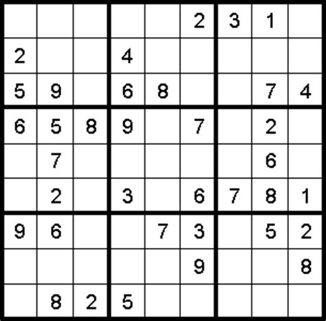 sudoku puzzle of the week education world